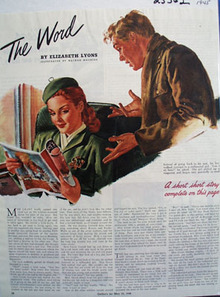 The Word by Elizabeth Lyons Article 1945