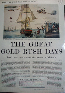 Great Gold Rush Days Article And Pictures 1959