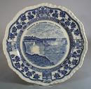 Masons Ironstone souvenir Plate of Niagra Falls.