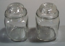 Dakota glass look alike mini canisters