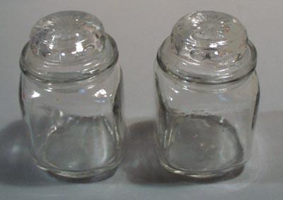 Dakota glass look alike mini canisters