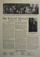 My Friend Abroad Article 1933