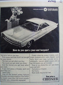 Chrysler Year End Bargain Ad 1966