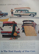 Ford Look Whats New In Wagons Ad 1958