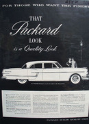 Packard Patrician For Those Who Want Finest Ad 1954