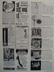 Shop By Mail F F Marine Life Ad 1966