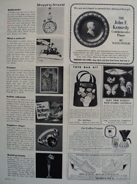 Shop By Mail and Madison Galleries Ad 1966
