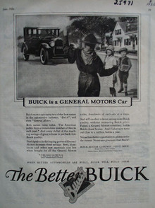 Buick is a General Motors Car Ad 1926