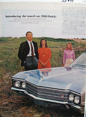 Buick Electra Introducing The Tuned Car Ad 1965