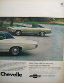 Chevrolet Chevy II In For Powerful Surprise Ad 1968