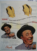 Chrysler Buttons Pop Off Vest Ad 1945