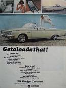 Dodge Coronet Getalodathat Ad 1965