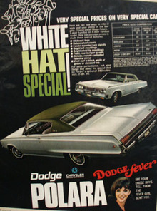 Dodge Polara White Hat Special Ad 1968