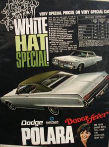 Dodge Polara White Hat Special Ad 1968