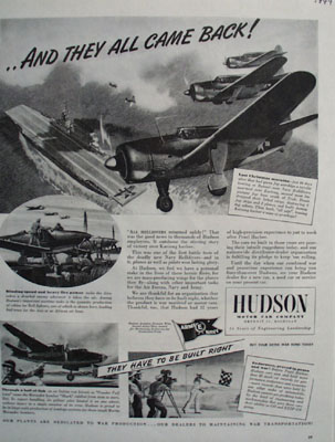 Hudson They All Came Back Ad 1944