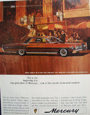 Mercury And Del Monte Lodge In Calif Ad 1964