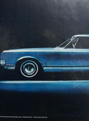 Oldsmobile Delta 88 New Dynamic Ad 1964