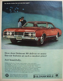Oldsmobile Delmont 88 Delivers Beautifully Ad 1967