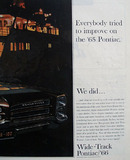 Pontiac Everyone Improved On The 65 Ad 1965