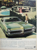Pontiac Wonder What Other Carmakers Doing Ad 1967