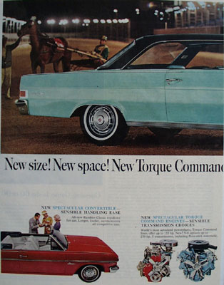 Rambler Classic 3 Sensible Spectaculars Ad 1964