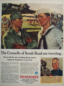 Studebaker The Connells of South Bend Ad 1943