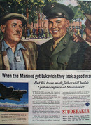 Studebaker Paul And Steve Lukavich Ad 1944
