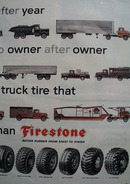 Firestone Year After Year After Year Ad 1957