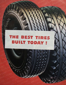 Goodyear Tires Best Tires Built Today Ad 1944