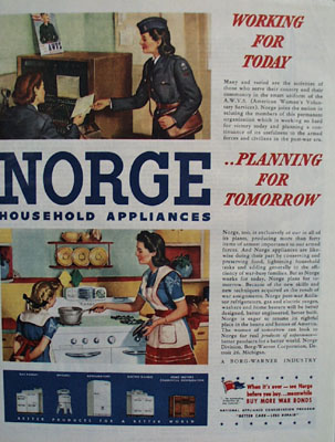 Norge Planning For Tomorrow Ad 1944