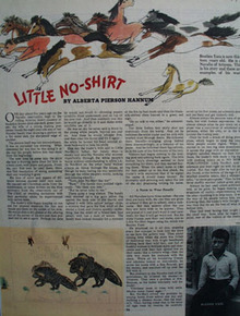 Little No Shirt Short Story 1944