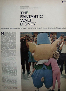 Fantastic Walt Disney Article 1965