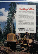 Caterpillar Battles of Peace Ad 1945
