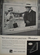 Libbey Owens Ford Thermopane Ad 1961