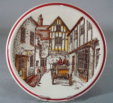 Vernon Kilns Designer Series Plate The Village