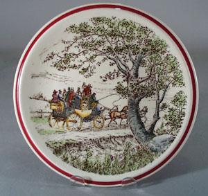 Vernon Kilns Designer Series Plate The Country