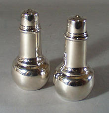 Silver Salt and pepper set