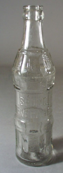 Spume Chicago Ill Beverages old  bottle