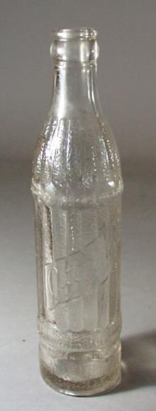 Citizens Brewing old Bottle, Clear bottle