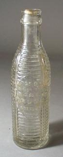 Orange Crush 1920 clear bottle