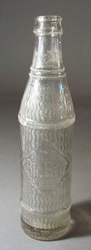 Big Ben Beverages bottle.8 oz clear bottle