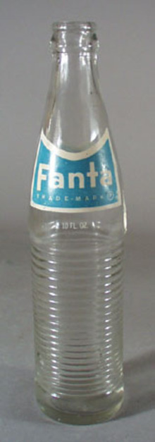 Fanta Soda Bottle.
