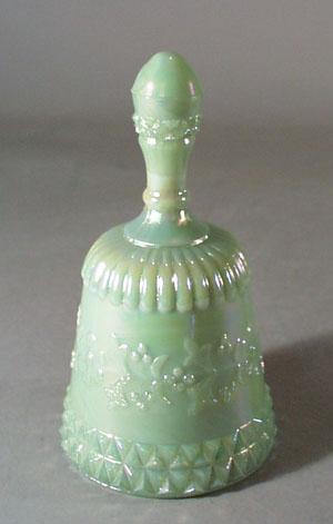 Summitt Glass Jadite Bell.