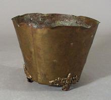 Thin Brass flower pot Hampton VA