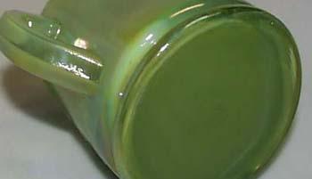 Summitt Glass Jadite Iridescent  Measuring Cup