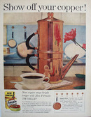 Twinkle Copper Cleaner Show Off Your Copper Ad 1960