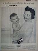 Linit Starch For a Linit Bath Ad 1954