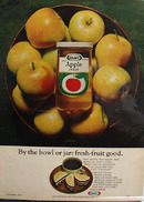 Kraft Apple Jelly By The Jar Ad 1968