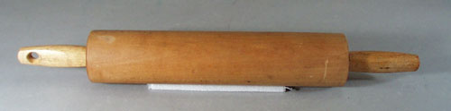 Maple Rolling pin, nice older rolling pin, maple wood