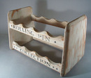 Rolling Pin Collection Shelf. Newer wood